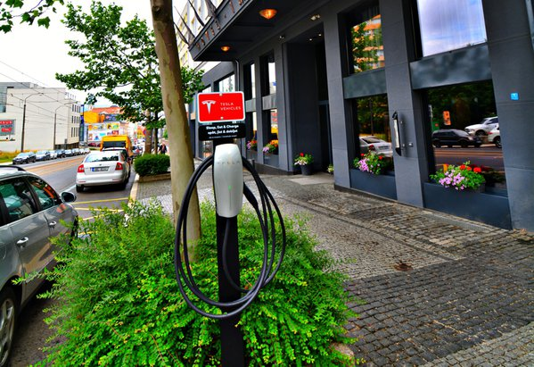 Charging stations for electromobil